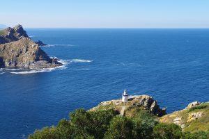 Vista Faro da Porta. Ruta del Faro de Cíes.