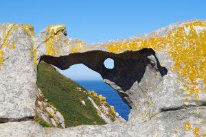 Pedra da Campá - Ruta del Faro de Cíes - Islas Cíes
