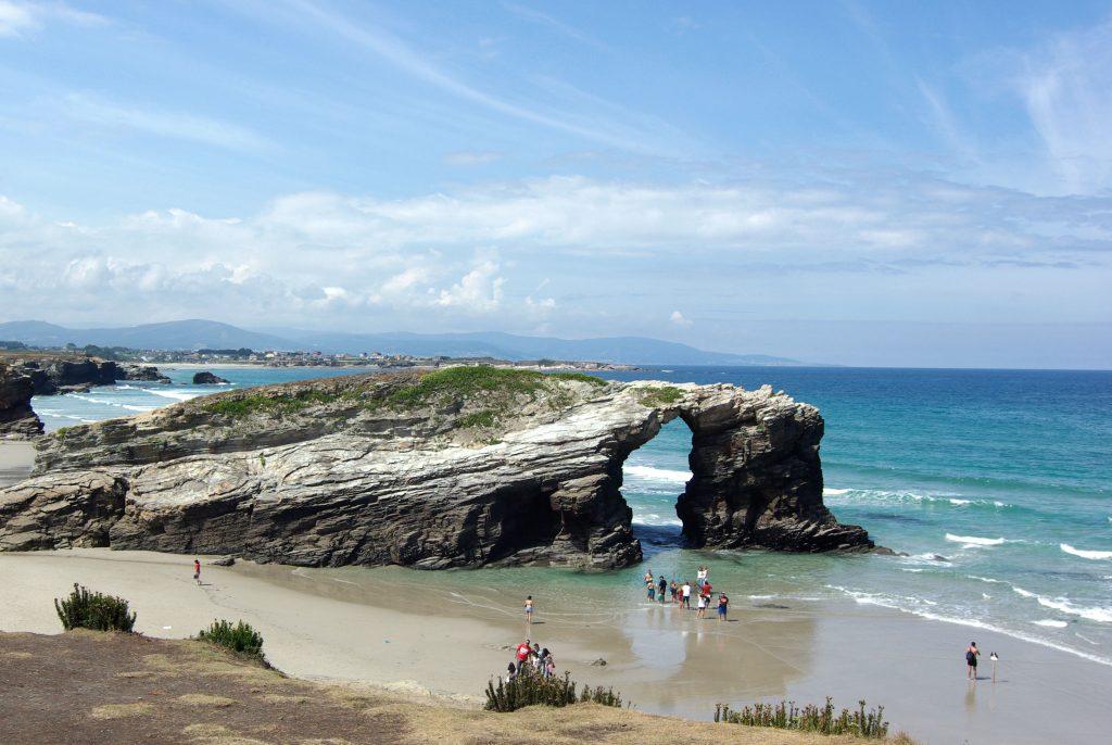 Arcos de la Playa de las Catedrales.