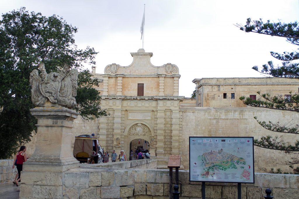 Puerta de entrada a Mdina