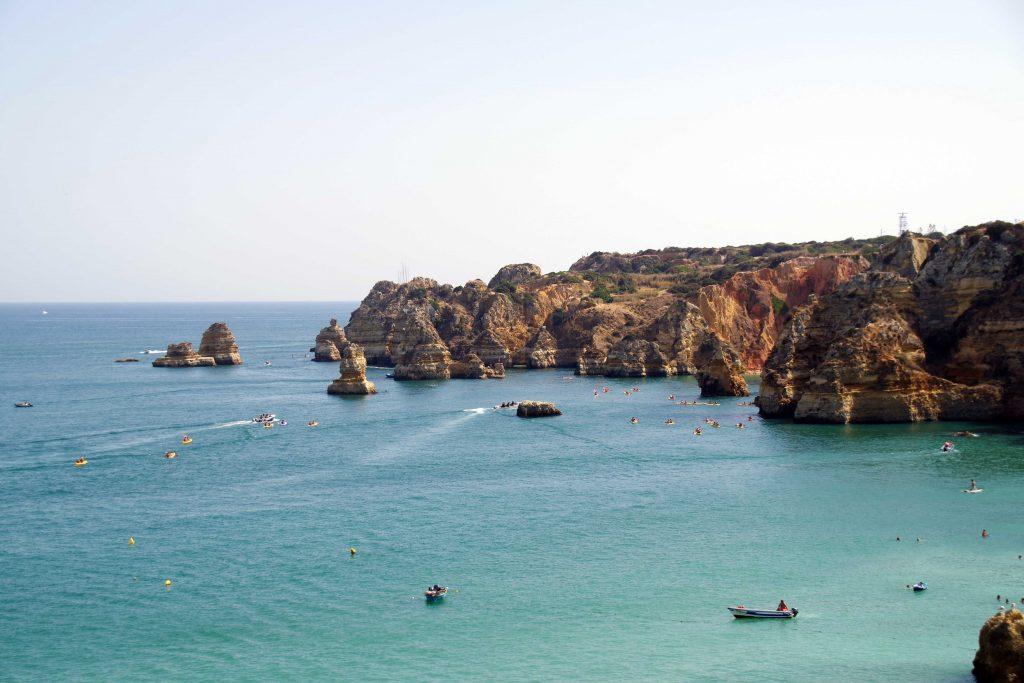 Las playas del Algarve, únicas con una fisionomía muy particular