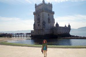 Vista de la Torre de Belém desde el exterior