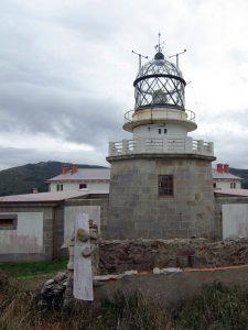 Vista de la torre del Faro de Estaca de Bares