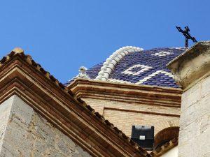 Detalle de la cúpula de la Iglesia de Nuestra Señora del Consuelo