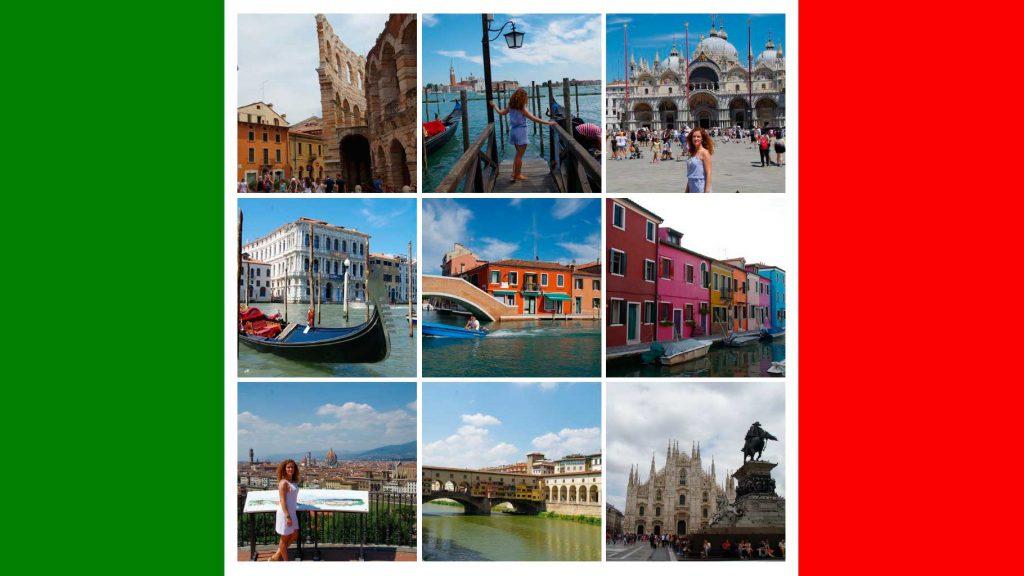 Ruta 7 días por Italia