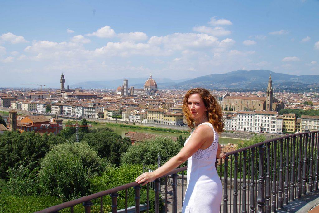 Plaza de Miguel Ángel en Florencia