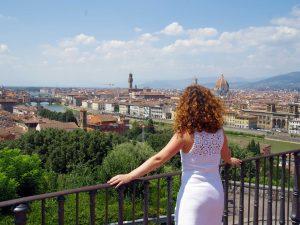 Vistas de Florencia.