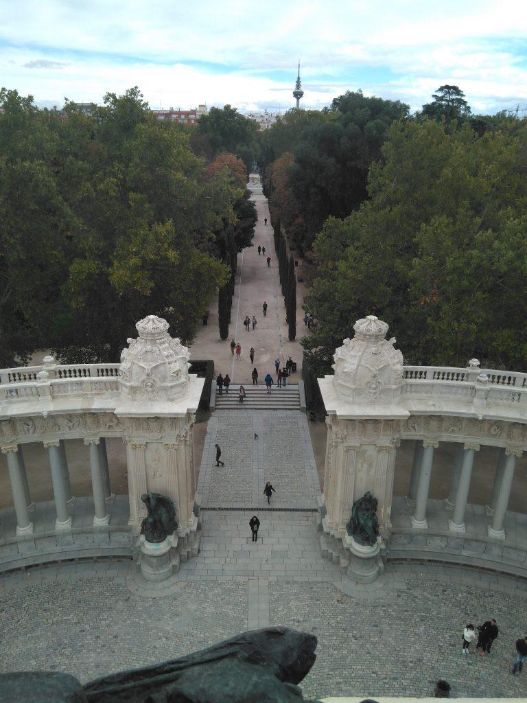 Vistas hacia el este de Madrid. El fondo el famoso Pirulí.