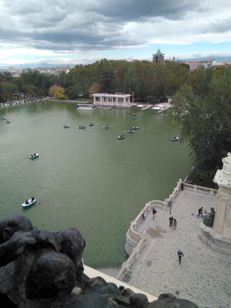 Vista hacia el norte de Madrid, otro de los emblemáticos al fondo La Torre de Colón.
