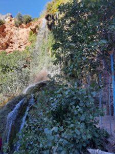 Cascada en el Rincón de la Toba. Qué ver en Ayna.