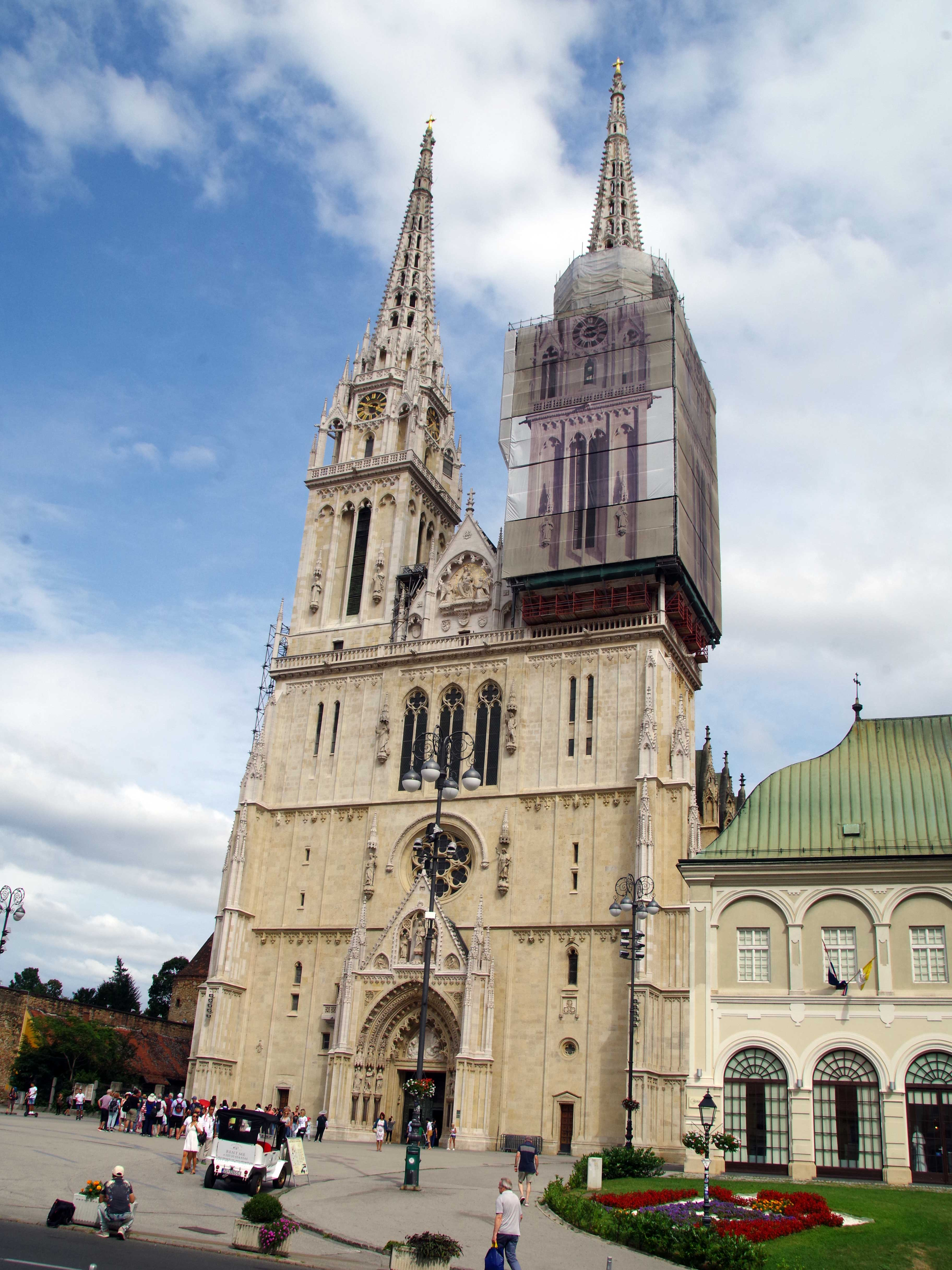 Catedral de Zagreb. Qué ver en Zagreb, capital croata
