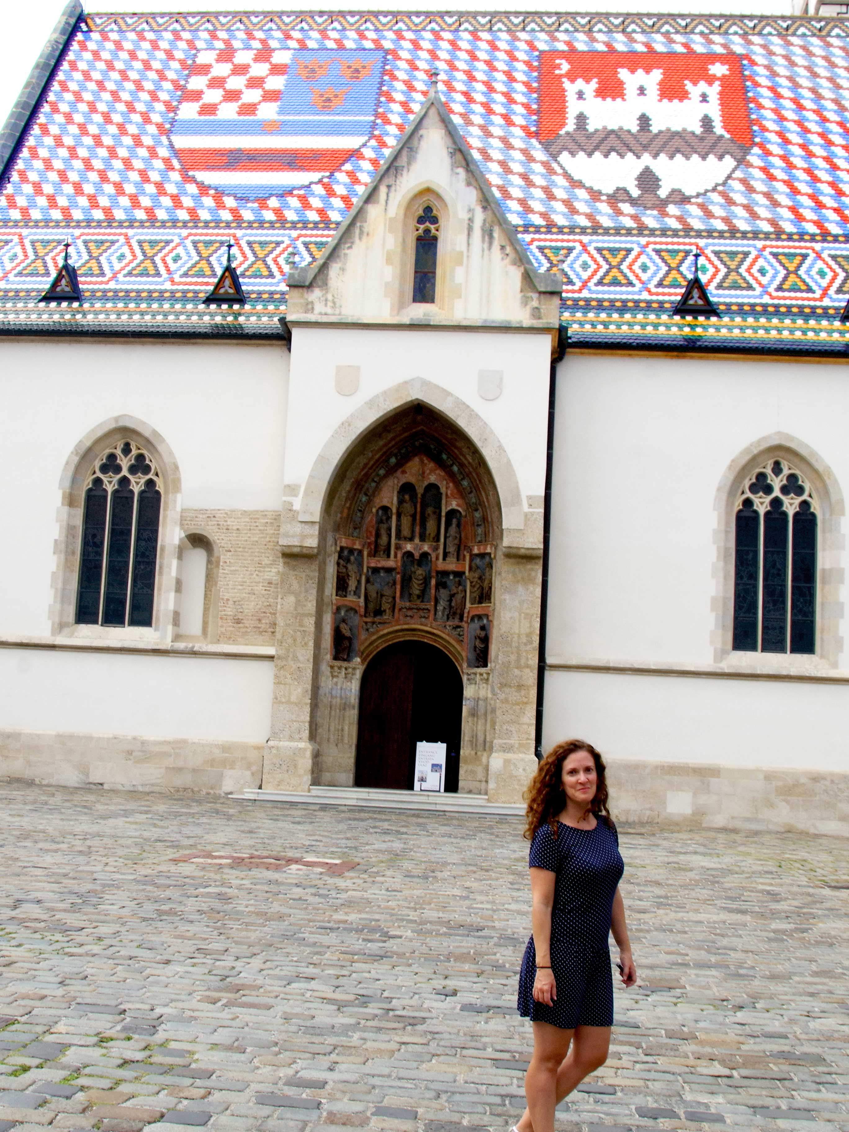 Iglesia de San Marcos, de los imprescindibles que ver en Zagreb