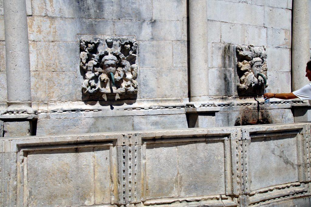 Qué ver en Dubrovnik: la Gran Fuente de Onofrio