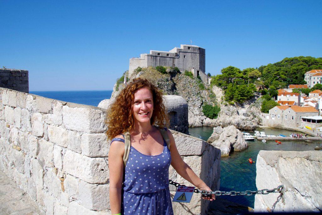 Al fondo, la fortaleza de Lovrijenac, fue escenario de Juego de Tronos