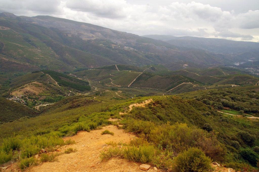 Ruta perimetral Las médulas en León